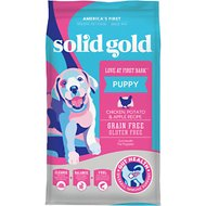 Solid Gold Love At First Bark Chicken, Potato & Apple Puppy Recipe Grain-Free Dry Dog Food, 24-lb bag