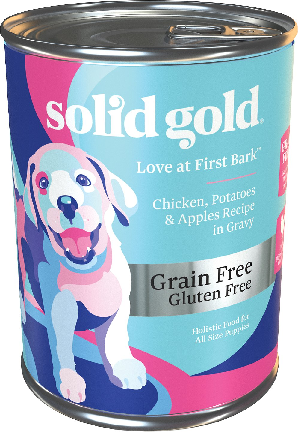 solid gold love at first bark chicken potatoes apples With solid gold wet dog food