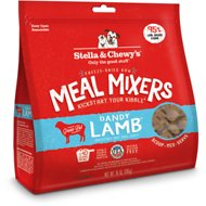 Stella & Chewy's Freeze-Dried Dandy Lamb Meal Mixers Dog Food Topper, 18-oz bag