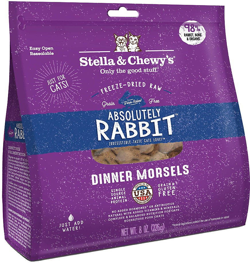 Stella chewys absolutely rabbit dinner morsels freeze dried raw video forumfinder Choice Image
