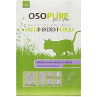 Artemis Osopure Grain Free Limited Ingredient Salmon & Garbanzo Bean Formula Dry Cat Food, 2-lb bag