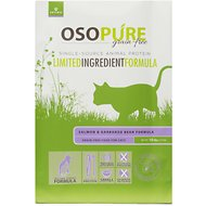 Artemis Osopure Grain Free Limited Ingredient Salmon & Garbanzo Bean Formula Dry Cat Food, 10-lb bag