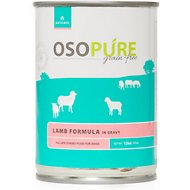 Artemis Osopure Grain-Free Lamb in Gravy Canned Dog Food, 12-oz, case of 12
