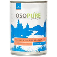 Artemis Osopure Grain-Free Turkey & Salmon in Gravy Canned Dog Food, 12-oz, case of 12