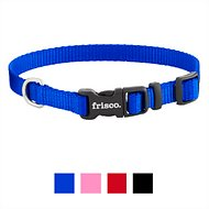 Frisco Solid Nylon Dog Collar, Blue, Extra Small