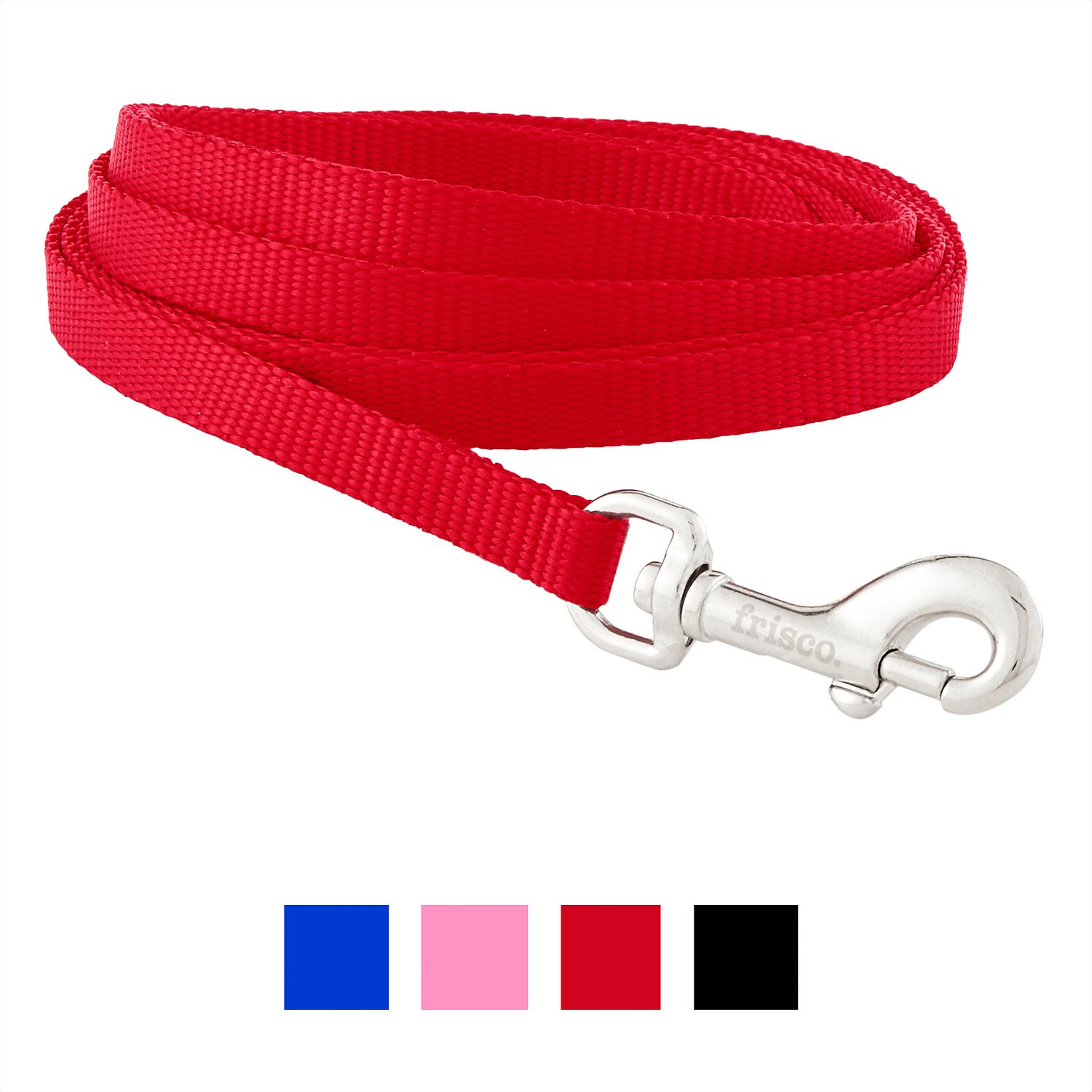 Black All Pet Solutions Strong Nylon Dog Lead Extra Long 6ft Leash