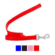 Frisco Solid Nylon Dog Leash, Red, 6-ft, 3/4-in