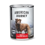 American Journey Beef & Chicken Recipe Grain-Free Canned Dog Food, 12.5-oz, case of 12