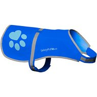 SafetyPUP XD Urban Reflective Dog Vest, Blue, X-Small