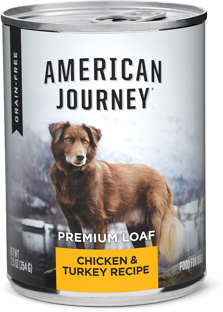 American journey chicken turkey recipe grain free canned dog food video forumfinder Choice Image