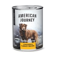 American Journey Chicken & Turkey Recipe Grain-Free Canned Dog Food, 12.5-oz, case of 12