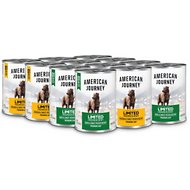 American Journey Limited Ingredient Poultry Variety Pack Grain-Free Canned Dog Food, 12.5-oz, case of 12