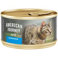 American Journey Pate Salmon Recipe Grain-Free Canned Cat Food, 3-oz, case of 24