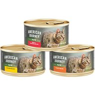 American Journey Pate Poultry & Beef Variety Pack Grain-Free Canned Cat Food, 3-oz, case of 24
