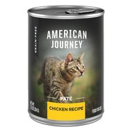 American Journey Pate Chicken Recipe Grain-Free Canned Cat Food, 12.5-oz, case of 12