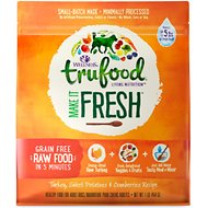 Wellness TruFood Make it Fresh Turkey, Sweet Potatoes & Cranberries Recipe Raw Freeze Dried Dog Food, 1-lb bag