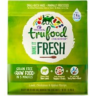 Wellness TruFood Make it Fresh Lamb, Chickpeas & Apples Recipe Raw Freeze Dried Dog Food, 1-lb bag