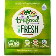 Wellness TruFood Make it Fresh Lamb, Chickpeas & Apples Recipe Raw Freeze Dried Dog Food, 7-lb bag