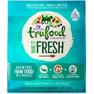 Wellness TruFood Make it Fresh Salmon, Sweet Potatoes & Kale Recipe Raw Freeze Dried Dog Food, 1-lb bag