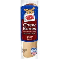 Canine Carry Outs Chew Bones Beef Flavor Dog Treats, Large, 1 count