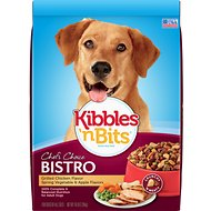 Kibbles 'n Bits Bistro Grilled Chicken Flavor Dry Dog Food, 16-lb bag