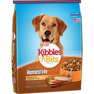 Kibbles 'n Bits Homestyle Roasted Chicken & Vegetable Flavors Dry Dog Food, 31-lb bag