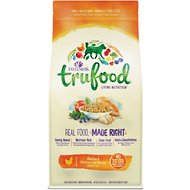 Wellness TruFood Baked Nuggets Adult Recipe with Chicken & Chicken Liver Grain-Free Dry Dog Food, 18-lb bag