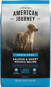 American Journey Large Breed Salmon and Sweet Potato