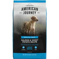 American Journey Large Breed Salmon & Sweet Potato Recipe Grain-Free Dry Dog Food, 24-lb bag