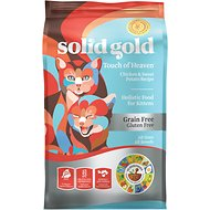Solid Gold Touch of Heaven Chicken & Brown Rice Recipe Kitten Grain-Free Dry Cat Food, 6-lb bag