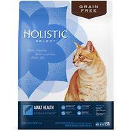 Holistic Select Adult Health Anchovy, Sardine & Salmon Meals Recipe Dry Cat Food, 11.5-lb bag