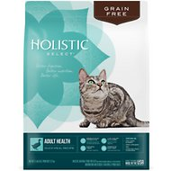 Holistic Select Adult Health Duck Meal Recipe Dry Cat Food, 11.5-lb bag