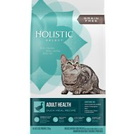 Holistic Select Adult Health Duck Meal Recipe Dry Cat Food, 5-lb bag