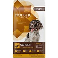 Holistic Select Adult Health Duck Meal  Recipe Dry Dog Food, 4-lb bag