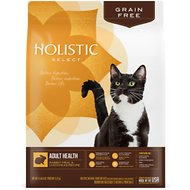 Holistic Select Adult Health Rabbit Meal & Chickpeas Grain Free Dry Cat Food, 11.5-lb bag