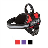 Doggie Stylz Emotional Support Dog Harness, Red, XX-Small