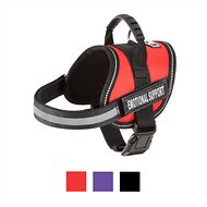 Doggie Stylz Emotional Support Dog Harness, Red, X-Small