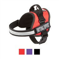 Doggie Stylz Emotional Support Dog Harness, Red, Medium