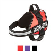 Doggie Stylz Emotional Support Dog Harness, Red, Large