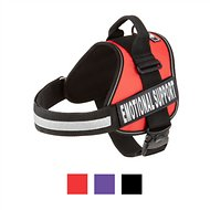 Doggie Stylz Emotional Support Dog Harness, Red, X-Large