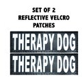 Doggie Stylz Therapy Dog Patch, 2 count