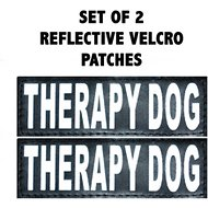 Doggie Stylz Therapy Dog Patch, 2 count, Large