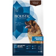 Holistic Select Large & Giant Breed Chicken Meal & Lentils Natural Grain Free Dry Dog Food, 24-lb bag