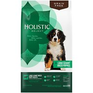Holistic Select  Large & Giant Breed Puppy Lamb & Chicken Meals Natural Grain Free Dry Dog Food, 24-lb bag