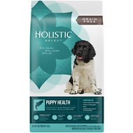 Holistic Select Puppy Health Anchovy, Sardine & Chicken Meals Recipe Dry Dog Food, 4-lb bag