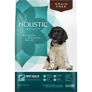 Holistic Select Puppy Health Anchovy, Sardine & Chicken Meals Recipe Dry Dog Food, 12-lb bag