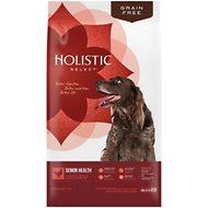 Holistic Select Senior Health Chicken Meal & Lentils Recipe Dry Dog Food, 24-lb bag