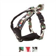 Pawtitas Camouflage Reflective Padded Dog Harness, XX-Small, Green Camo