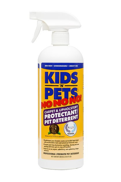 KIDS 'N' PETS No No No! Carpet & Upholstery Protectant Spray, 27.05-oz bottle - Chewy.com