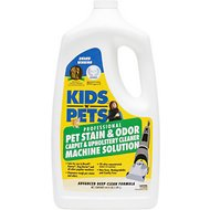 KIDS 'N' PETS Stain & Odor Carpet & Upholstery Cleaner Machine Solution, 64-oz jug